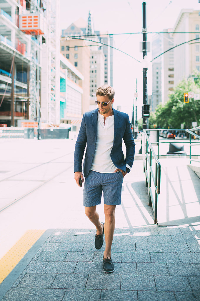 mens-blazer-and-shorts